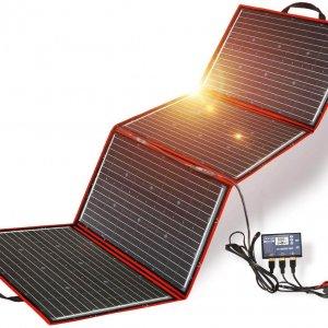 Solarpanel - tragbar, flexibel, zusammenklappbar