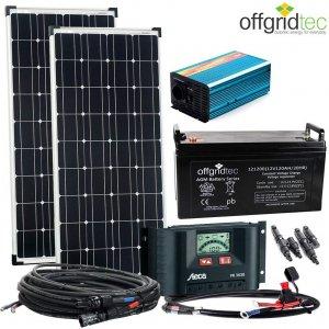 Photovoltaikanlage Autark M-Master 200W