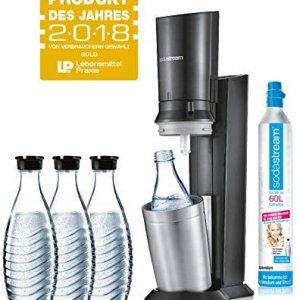 SodaStream mit nachhaltiger Glasflasche